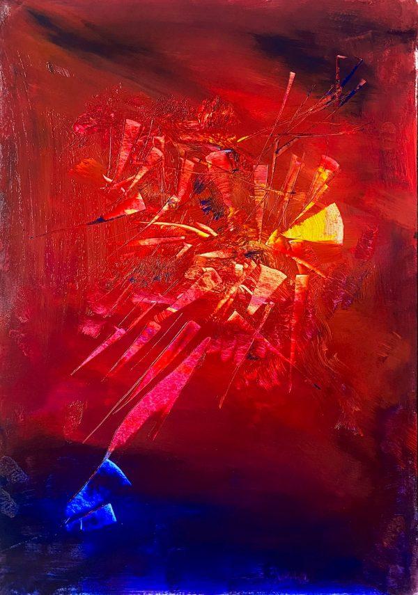 Christine Sparks, Ragin', A2 Acrylic