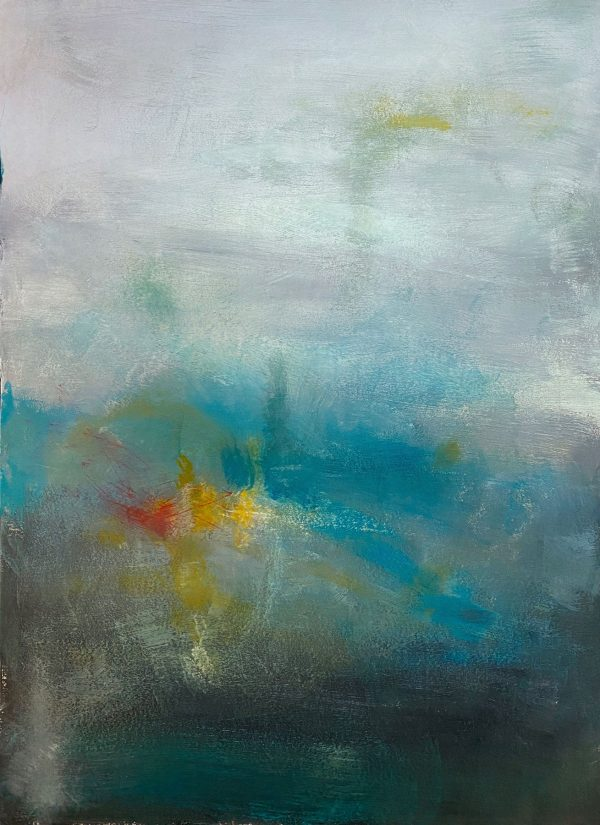 Christine Sparks, The Distance Between Us, A2 Acrylic, 2020
