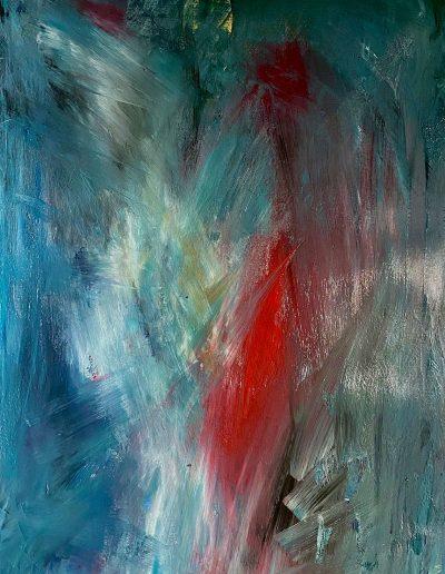 Christine Sparks, Longing, A2 Acrylic, 2020