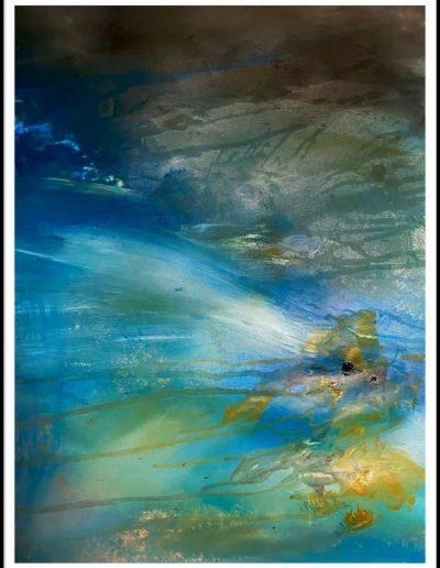 Christine Sparks, Hope, Beyond, A2 Acrylic, 2020