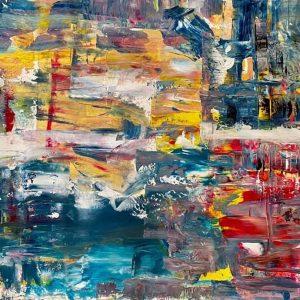 Christine Sparks, Hallow the body as a temple, A2 Acrylic, 2020