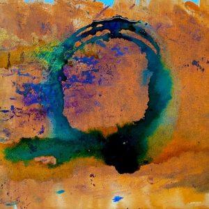 Christine Sparks, Like a Million Suns, A3 Watercolour, 2020